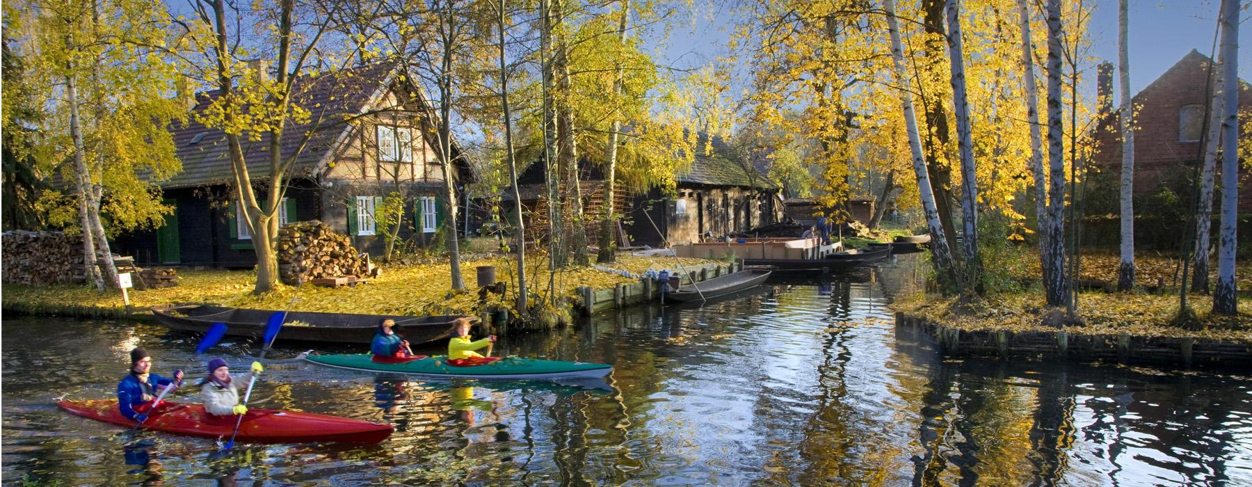 Canoeing tour in the Spreewald